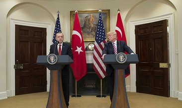 Trump'tan son dakika açıklaması! Teksas'taki konuşmasında Cumhurbaşkanı Erdoğan'a teşekkür etti: Kimsenin yapamadığını...
