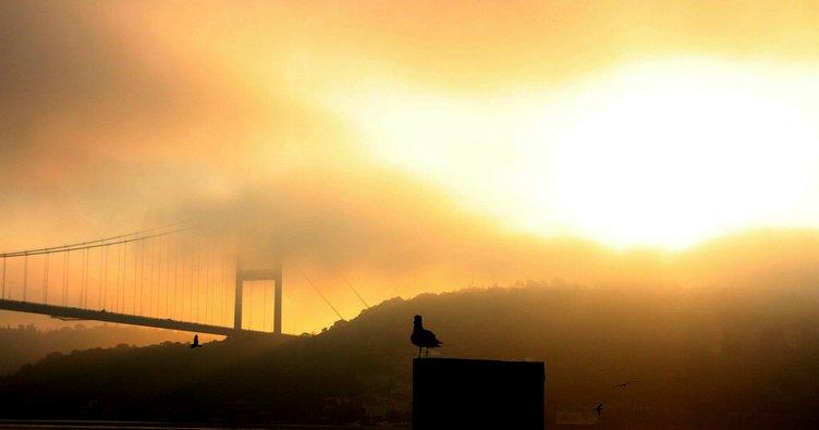 İstanbul'da sis etkisi