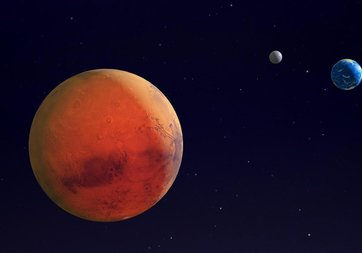Mars'ta uzaylılara ait heykel bulundu! Kızıl gezegenle ilgili flaş iddia ortalığı karıştırdı