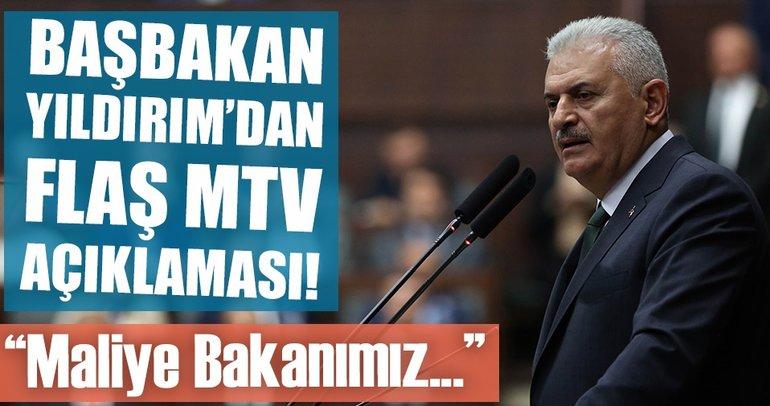 Son dakika! Başbakan'dan flaş MTV açıklaması