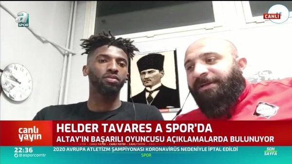 Helder Tavares: Hiçbir futbolcu maç oynayacak seviyede değil