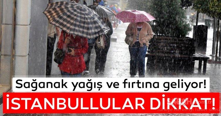 Meteoroloji'den son dakika hava durumu ve sağanak yağış uyarısı! İstanbul ve o illerde yaşayanlar dikkat