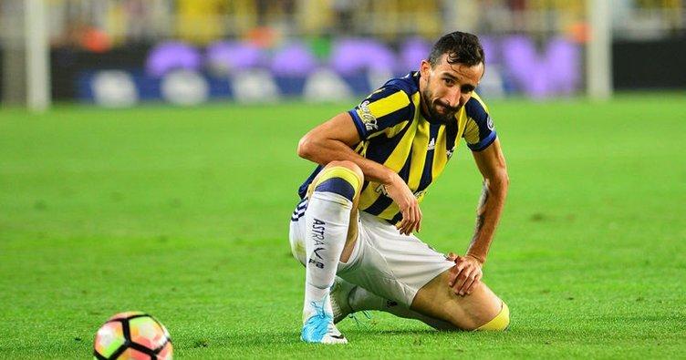 Fenerbahçe'nin en hırçını Mehmet Topal oldu!