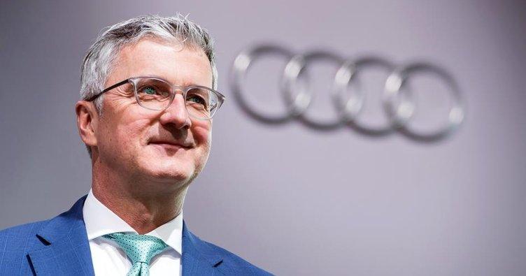 Audi'nin patronu artık serbest