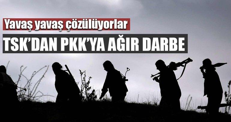 Şırnak'ta PKK'nın sözde sorumluları etkisiz hale getirildi