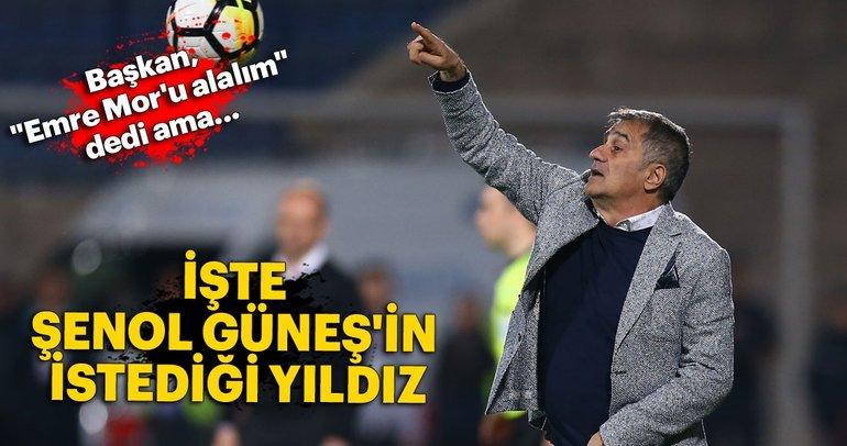 Şenol Güneş, Bilal Başacıkoğlu'nu istiyor