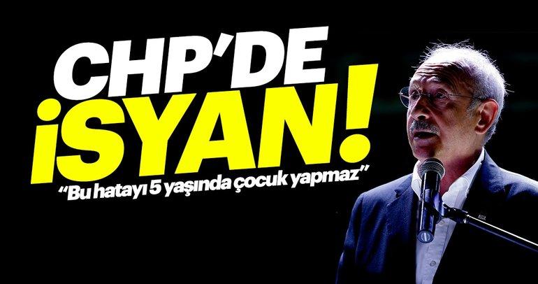 CHP'de isyan büyüyor! Önemli isimler artık Kılıçdaroğlu'nun karşısında