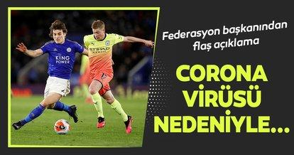 İngiltere Premier Lig corona virüsü sebebiyle tamamlanamayabilir