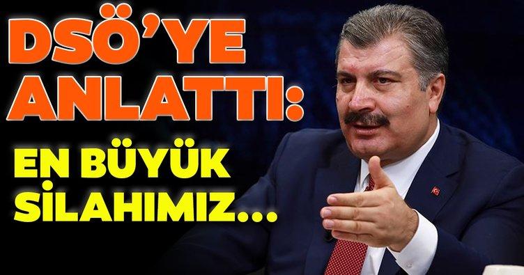 SON DAKİKA: Sağlık Bakanı Fahrettin Koca DSÖ'ye Türkiye'nin coronavirüs mücadelesini anlattı!