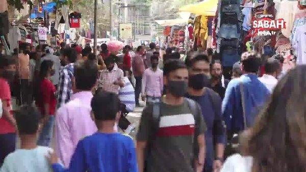 Hindistan'da günlük vaka ve ölüm sayısında rekor kırıldı | Video