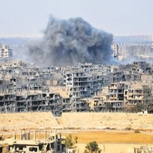 Koalisyondan camiye bomba
