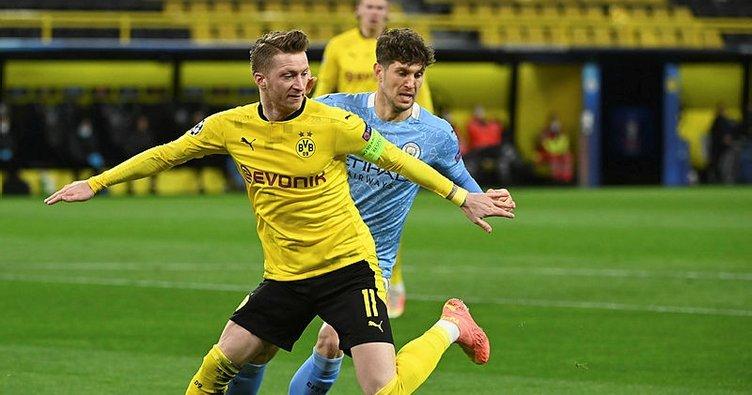 Manchester City geriden geldi! Borussia Dortmund'un sürpriz yapmasına izin vermedi...