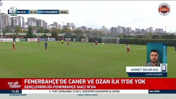 Fenerbahçe'de yıldız isimler ilk 11'de yok!