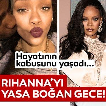 Rihanna'yı yasa boğan gece! Yaşadığı talihsiz olay Rihanna'yı derinden sarstı!