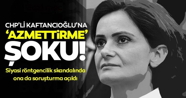 CHP il Başkanı Canan Kaftancıoğlu hakkında suçluyu övme ve suça azmettirme soruşturması