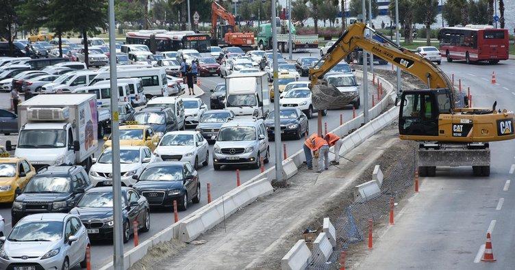 İzmirlilere trafik şoku!