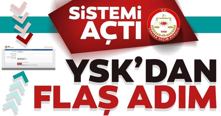 23 haziran İstanbul seçimleri için son dakika: YSK'nın seçmen sistemi açıldı
