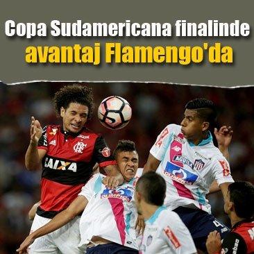 Copa Sudamericana finalinde avantaj Flamengo'da