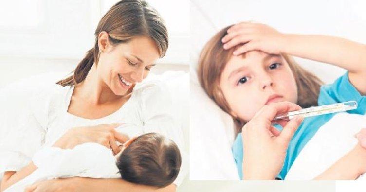 İshal olan bebeğinizi sık sık emzirmelisiniz