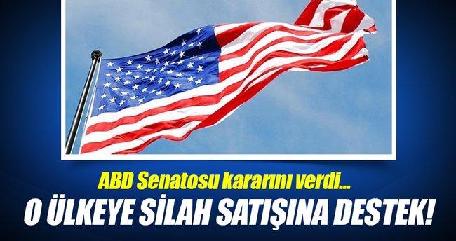 ABD Senatosu'ndan Suudi Arabistan'a silah satışına destek