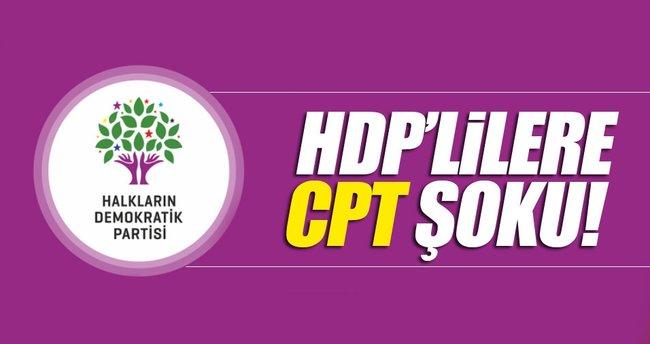 HDP'lilere CPT şoku!