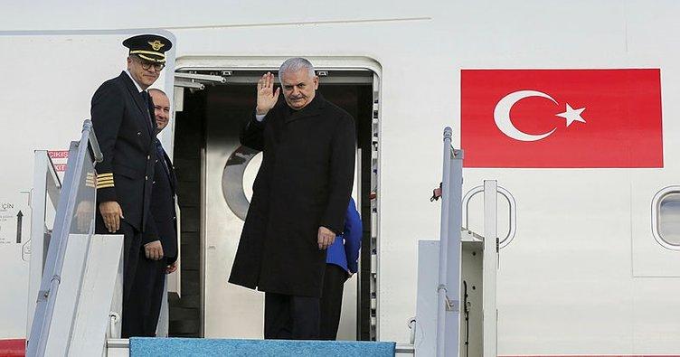 Başbakan Yıldırım Azerbaycan'a geldi