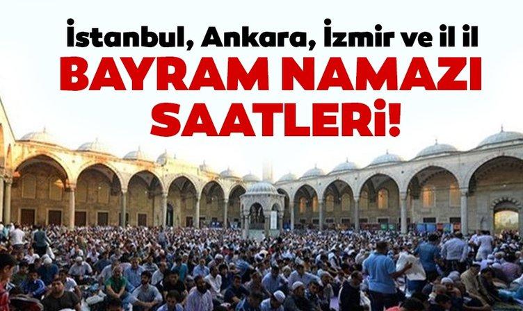 Bayram namazı saat kaçta kılınacak? Diyanet ile 2019 İstanbul, Ankara, İzmir, Antalya Kurban Bayram namazı saatleri açıklandı