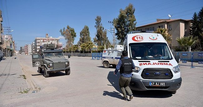 Mardin'de teröristlerle çıkan çatışmada 1 güvenlik görevlisi yaralandı!