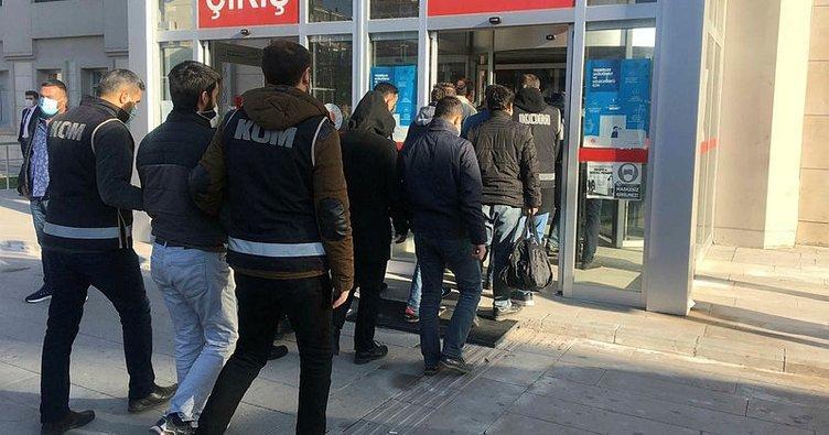 Son dakika: Erzincan merkezli FETÖ operasyonu: 14 gözaltı