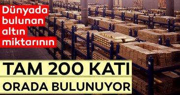 Dünyada bulunan altın miktarının tam 200 katı orada bulunuyor