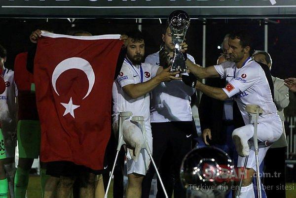 Ampute Futbol Milli Takımı Kaptanı Osman Çakmak helallik istedi