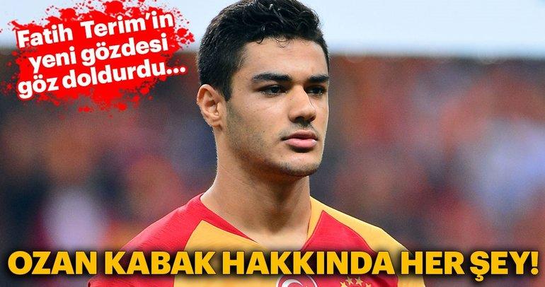 Fatih Terim ve Galatasaray taraftarının yeni gözdesi: Ozan Kabak