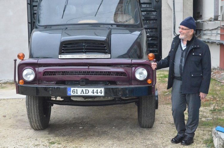 Evlatları yıllar sonra kamyonunu buldu!