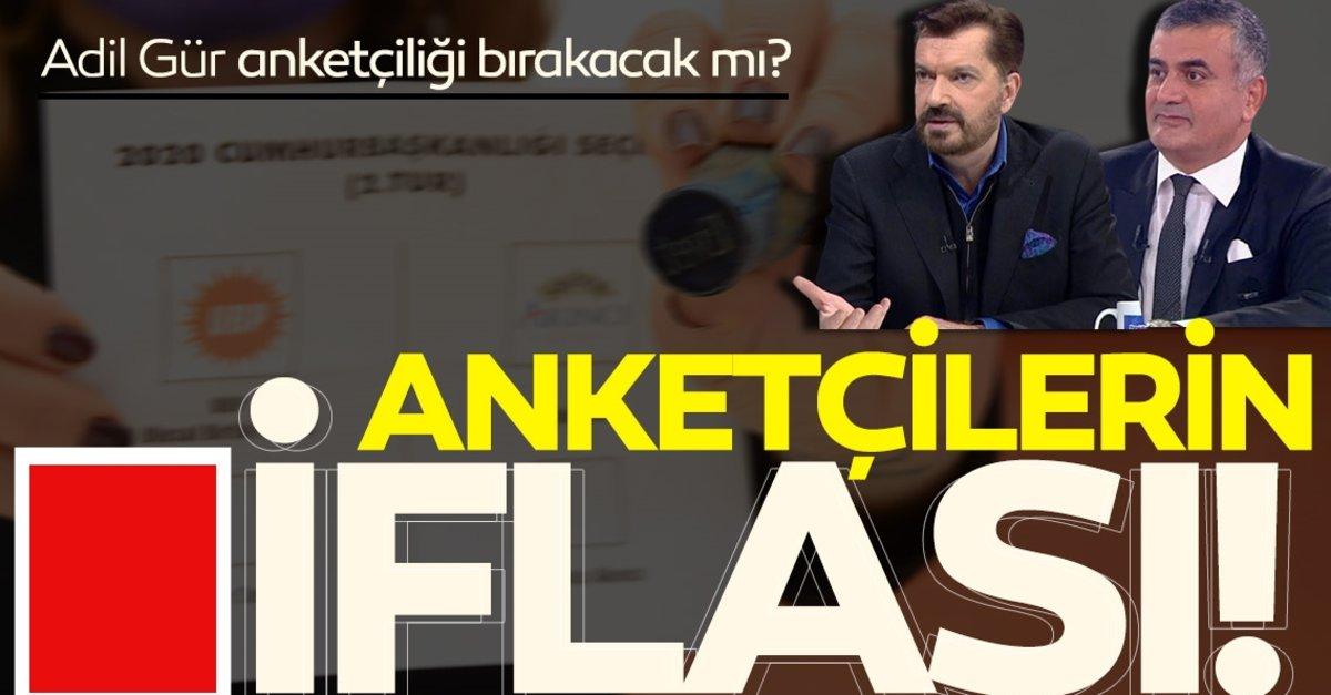 Anketçilerin iflası! 'Ersin Tatar seçimi kazansın mesleğimi bırakırım' diyen Adil Gür anketçiliği…