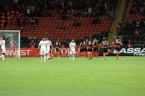 Sivasspor Avrupa'ya veda etti