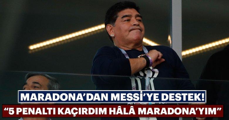 Maradona: 5penaltı kaçırdım hâlâMaradona'yım