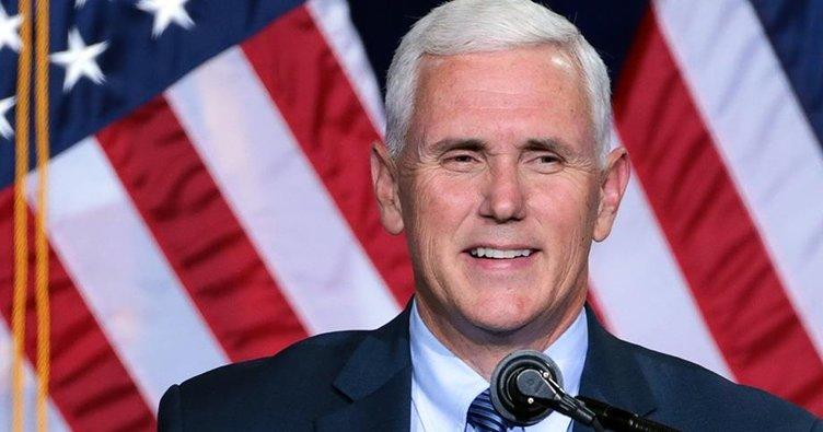 ABD Başkan Yardımcısı Pence'den 'başkanlık' açıklaması