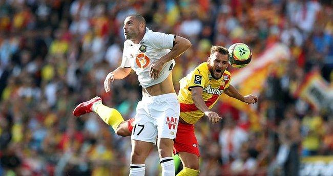 Lens Lille'i tek golle geçti! Burak Yılmaz ve Zeki Çelik...