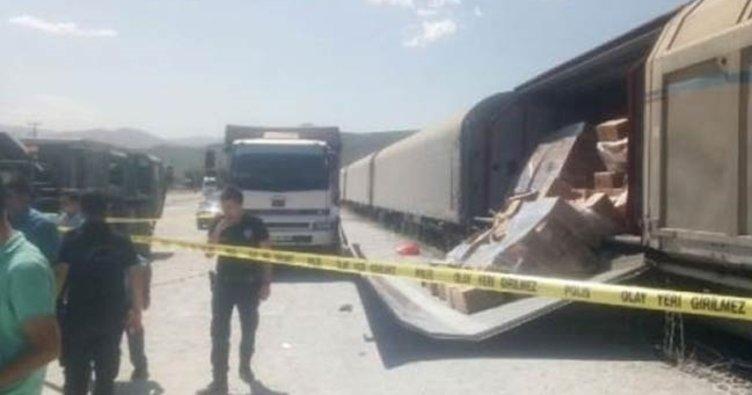 Bitlis'te trenin vagon kapağı askerlerin üzerine düştü: 5 yaralı