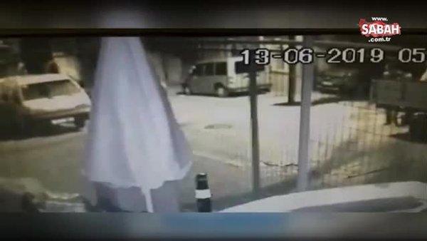 Araçların kapılarını çay kaşıklarıyla açıp çaldılar | Video