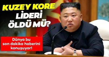 Dünya Kuzey Kore lideri Kim Jong-Un ile ilgili bu son dakika haberini konuşuyor! Kim Jong Un öldü mü, sağlık durumu nasıl?