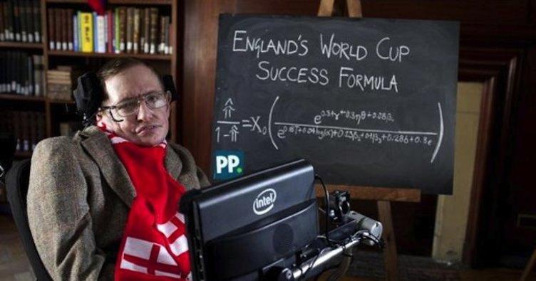 Stephen Hawking ideal penaltının formülü çıkarmış!