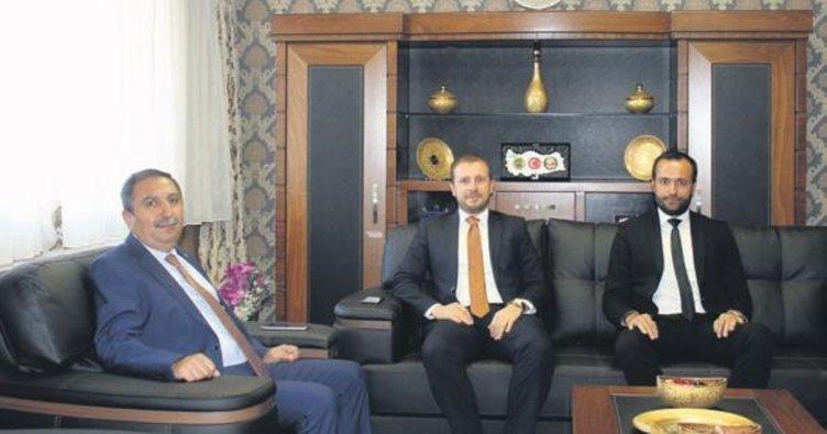 Milletvekili Ahmet Kılıç ziyaretlerini sürdürüyor