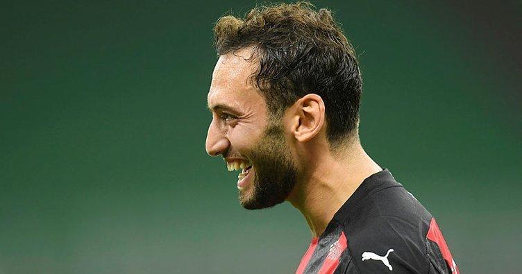 Hakan Çalhanoğlu yıldızlaştı Milan turladı! Milan 3-2 Bodo Glimt