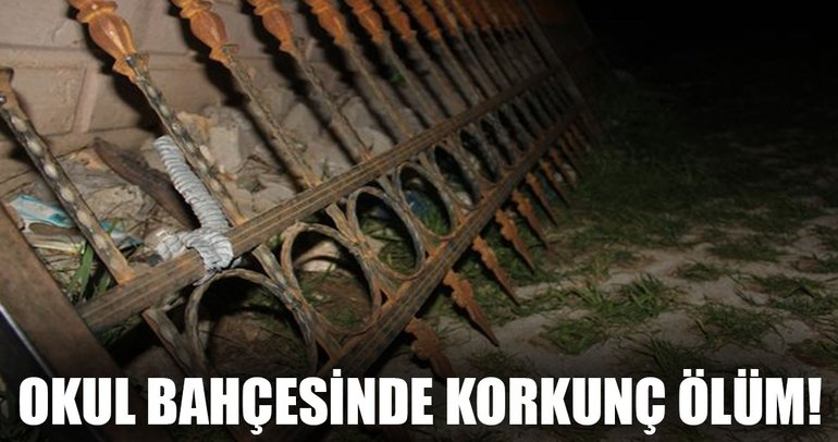 Şanlıurfa'da okul bahçesinde korkunç ölüm!