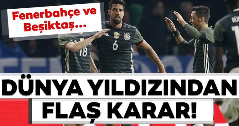 Son dakika haberi: Dünya yıldızından transfer kararı! Fenerbahçe ve Beşiktaş...