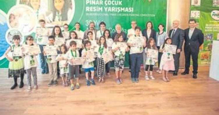 5 ülkenin yetenekli çocukları ödül aldı