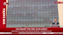 Faruk Erdem A Haber'de Halkbank'a açılan davanın perde arkasını anlattı | Video