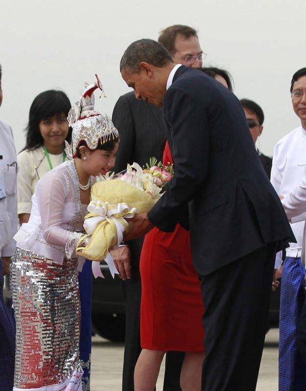 Obama'nın tarihi Myanmar ziyareti