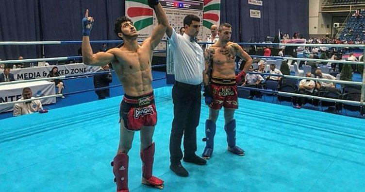 Haliliyeli Oğuz Yıldırım, Kick boksta dünya üçüncüsü oldu